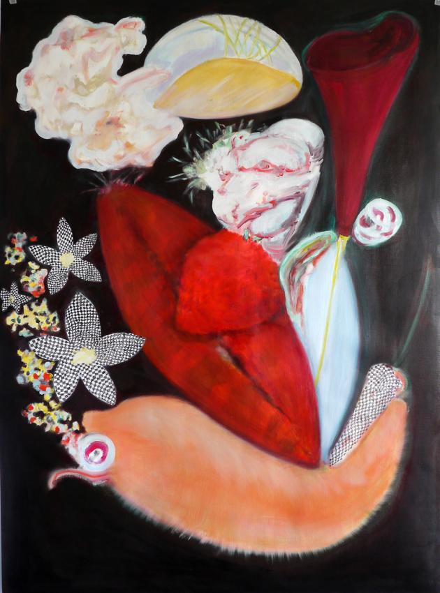 Fleshy Flowers I - III | 2016 © Barbara Schober
