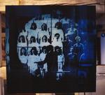 Auf mein Zeichen, schießen Sie auf den Dirigenten, Plexiglas-Arbeit, Künstlerhaus Stuttgart